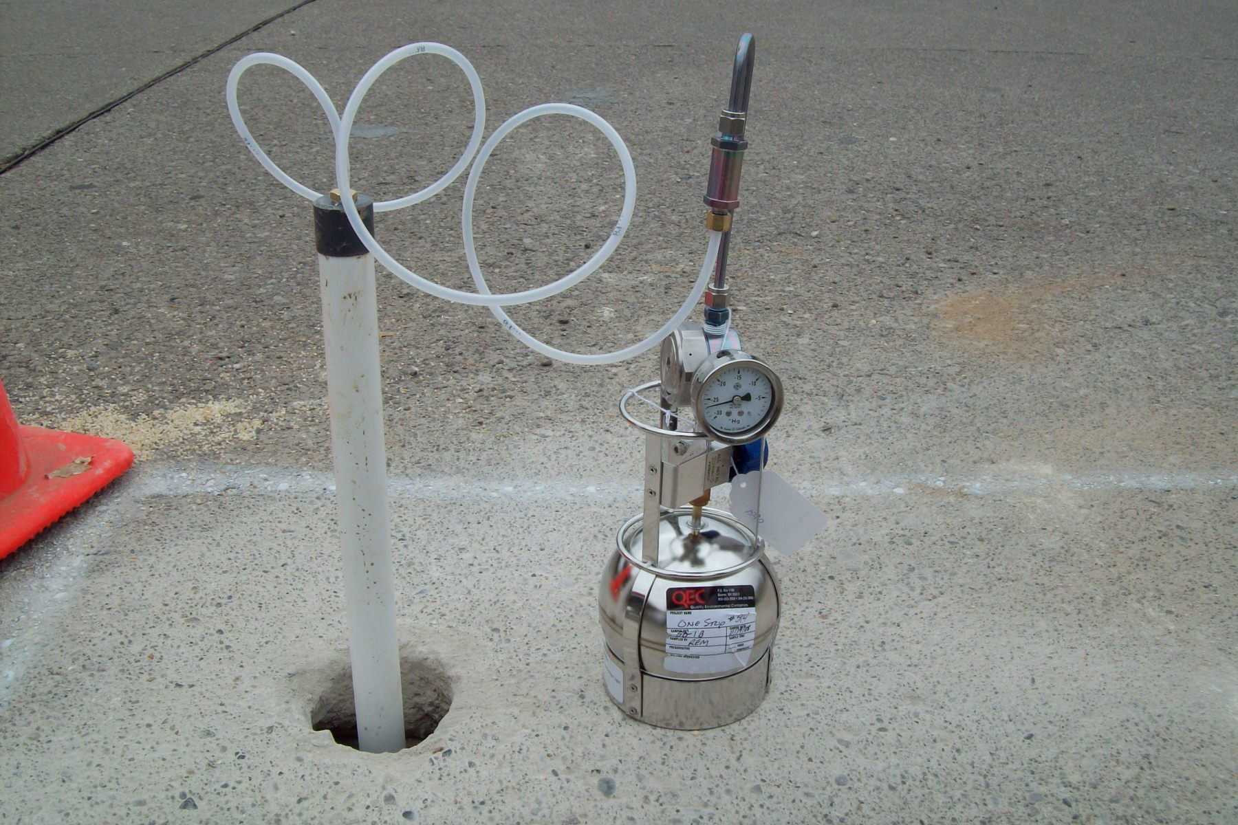 Soil Gas Vapor Intrusion Sampling Enviroprobe Integrated